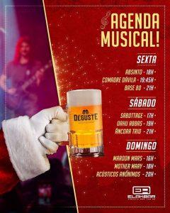 programação musical Deguste Teresópolis - feira de cervejas artesanais Terê