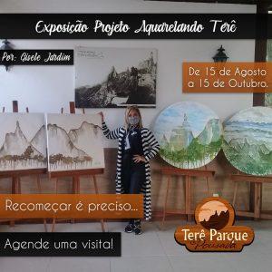 Projeto Aquarelando Terê de Gisele Jardim - Teresópolis RJ